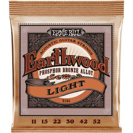 Ernie Ball Earthwood Acoustic Light 11-52