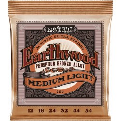 Ernie Ball Earthwood Acoustic Medium Light 12-54