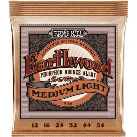Ernie Ball Earthwood Acoustic Medium Light 12-54