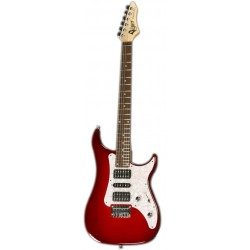 Excalibur Supra Clear Red, touche palissandre
