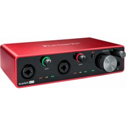 Focusrite Scarlett G3 4 in/4 out USB-C