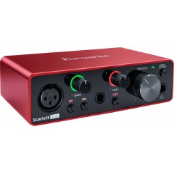 Focusrite Scarlett Solo G3 4 in/4 out USB-C