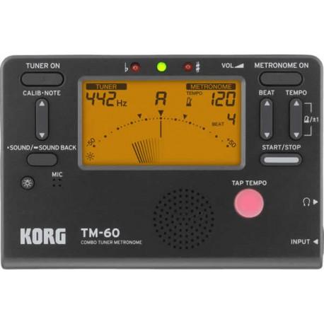 Korg TM-60 Digital Tuner et Metronome