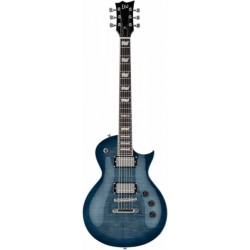 LTD Eclipse 256 Bleu flammé transparent