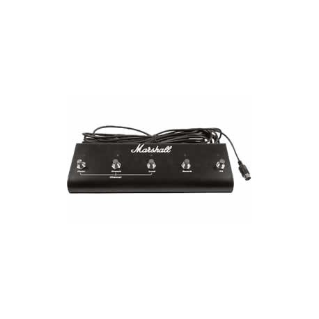 Marshall PEDL-10021 Footswitch 5 voies Reverb/Chorus pour TSL