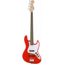 Squier Affinity Series Jazz Bass LRL Race Red