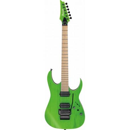 Ibanez RGR5220M-TFG Transparent Fluorescent Green Prestige W/CASE