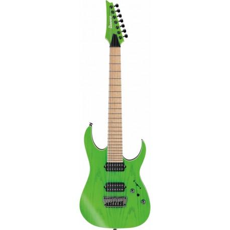 Ibanez RGR5227MFX-TFG Transparent Fluorescent Green Prestige W/CASE