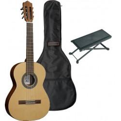 Santos Y major Pack Guitare Classique Standard 4/4 - Ado/Adulte