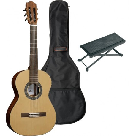 Santos Y major Pack Guitare Classique Standard 4/4 - Ado/Adulte