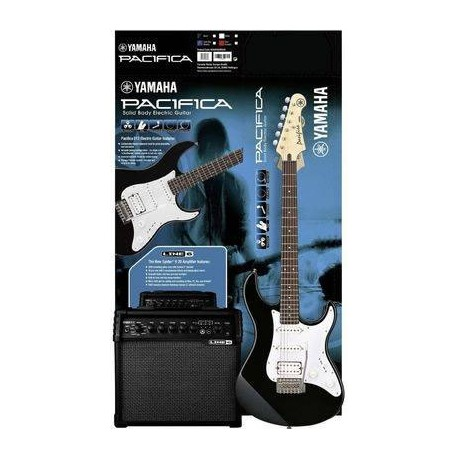Yamaha Pacifica 012 Black & Spider V20 Pack