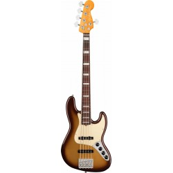 Fender American Ultra Jazz Bass V RW Mocha Burst