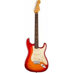 Fender American Ultra Stratocaster RW Plasma Red Burst