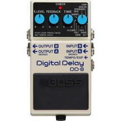 Boss DD-8 - Pédale Echo & Delay