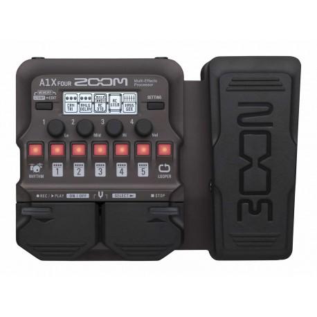 Zoom A1X Four Acoustic Pedal