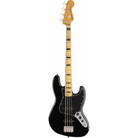 Squier Classic Vibe '70s Jazz Bass MN Black