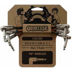 Orange Câble Patch 15 cm