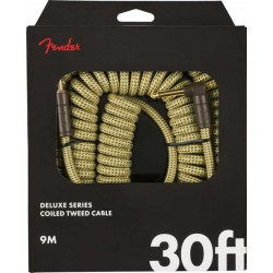 Fender Deluxe Coil Cable Tweed 9 Mètres
