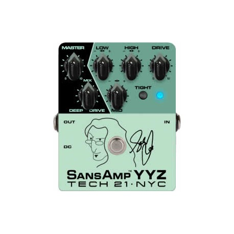 Tech21 Geddy Lee Signature SansAmp YYZ