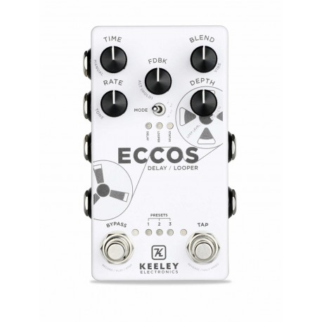 Keeley Electronics Eccos Delay Looper Stéréo