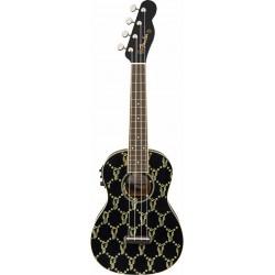 Fender Billie Eilish Uke Walnut Fingerboard Black