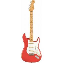 Fender Stratocaster 50s Road Worn MN Fiesta Red