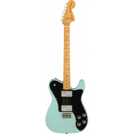 Fender Telecaster Road Worn '70s Deluxe MN Daphne Blue
