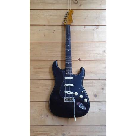 Fender Roasted Poblano Stratocaster Relic RW Aged Black 2019 LTD