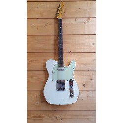 Fender 1961 Telecaster Relic RW Aged Olympic White