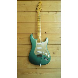 Fender 2019 Ltd Ed '55 Dual-Mag Strat MN Super Fad Aged Sherwood Green