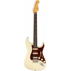 Fender AM Pro II Stratocaster HSS RW Olympic White