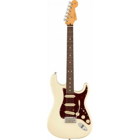 Fender AM Pro II Stratocaster RW Olympic White