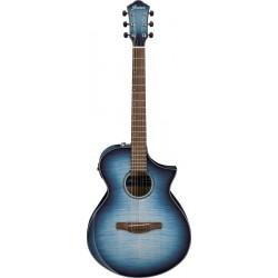Ibanez AEWC400-IBB Indigo Blue Burst High Gloss