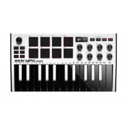 Akai MPK Mini MKII White Edition