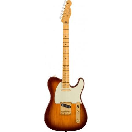 Fender 75TH ANV CMRTV Tele MN 2-Color Bourbon Burst
