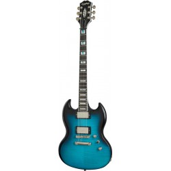 Epiphone Prophecy SG Blue Tiger Aged Gloss