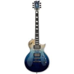 ESP E2 Eclipse Burled Maple Blue Natural Fade