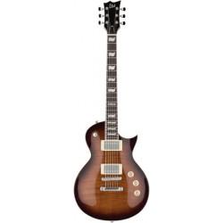 ESP LTD Eclipse 256 See Thru Dark Brown Sunburst