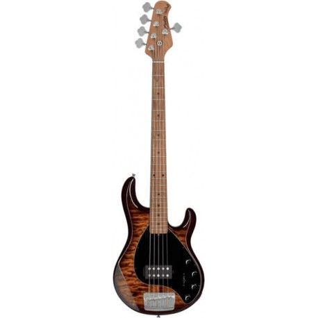 Sterling by Music Man StingRay 35 Quilted Maple Island Burst