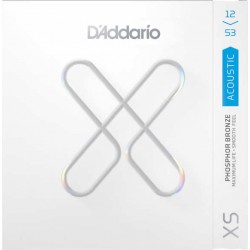 D'Addario XSAPB-1253 Jeu XS Acoustic Phosphore Bronze Light