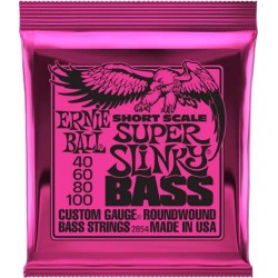 Ernie Ball 2854 Super slinky short scale 40-100