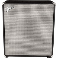 Rumble 410 Cabinet (V3), Black/Silver