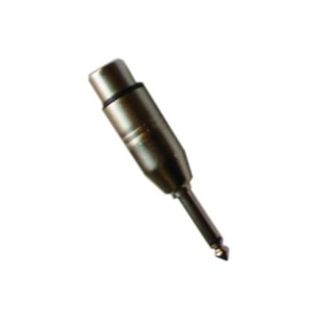 2 Adaptateurs XLR Femelle / Jack Mâle