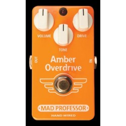Amber Overdrive Hand Wired