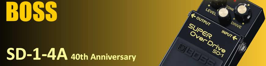 Boss SD-1-4A 40th Anniversary