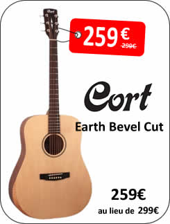 Cort Earth Bevel Cut
