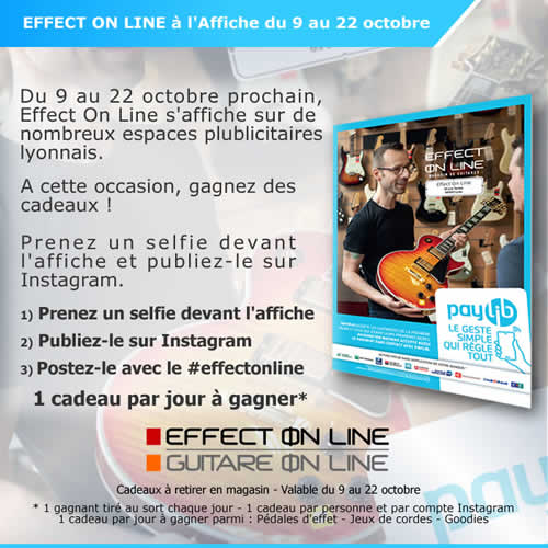 Effect On Line - Campagne Paylib