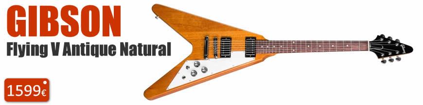 Gibson Flying V Antique Natural