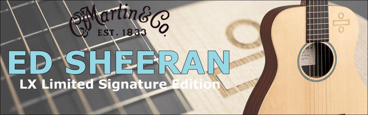 Guitare Martin LX Ed Sheeran Edition Limitée